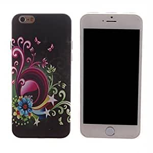 ZXSPACE Vines and Flower Design PC Hard Case for iPhone 6