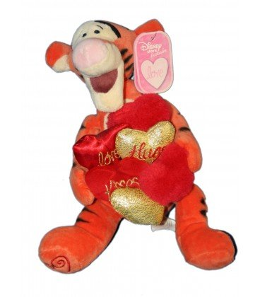 Collector – Doudou peluche Tigger Love Hugs Kisses Tigger as Pooh Kiss Me 20 cm Disney