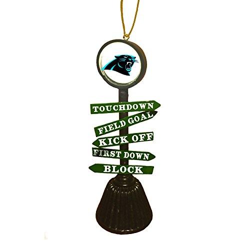 Team Sports America 3OT3804FC Carolina Panthers Fan Crossing Ornament (Panther Crossing)