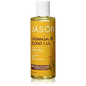 Vitamin E 5,000 IU Oil - All Over Body Nourishment Jason Natural Cosmetics 4 oz Liquid