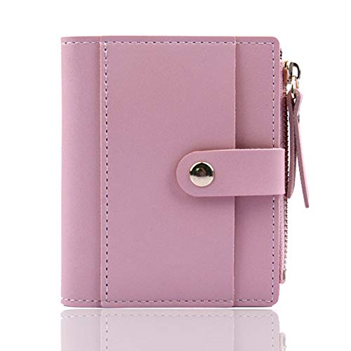 Hot Sale!DEESEE(TM)Fashion Women Wallet Lovely Candy Color Small Coin Zipper Purse Card Package (Pink) ()