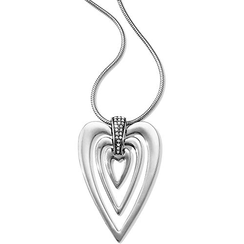 - Brighton Meridian Swing Hearts Necklace