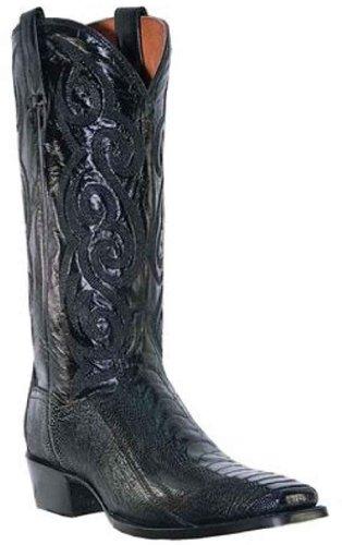 Dan Post Mens Struts Ben Cowboy Boot Fyrkantig Tå - Dp26628 Svart