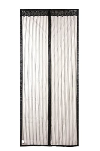 Magnetic Screen Door,Full Frame Velcro Magic Mesh Curtain for Patio Door,Instant Mosquito Net,Keep Fly Bugs Out,Automatically Closure from Top to Bottom,Fits Door Up To 34