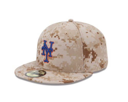 MLB New York Mets Alternate AC On Field 59Fifty Fitted Cap-718 (New York Mets Fitted Cap)