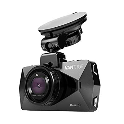 """Vantrue X1 Car Dash Cam - Full HD 1080P 1920x1080 Dash Cam 170° Wide Angle 2.7"""" LCD In Car Dashboard Camera DVR Video Recorder with G-Sensor, Parking Mode, HDR & Super Night Vision, Motion Detection"""
