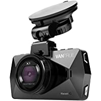 Vantrue X1 Car Dash Cam - Full HD 1080P 1920x1080 Dash Cam 170° Wide Angle 2.7' LCD In Car Dashboard Camera DVR Video Recorder with G-Sensor, Parking Mode, HDR & Super Night Vision
