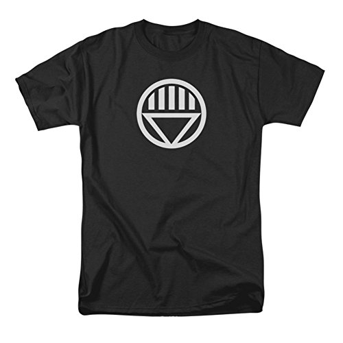 Officially Licensed DC Comics Black Lantern Symbol T-Shirt