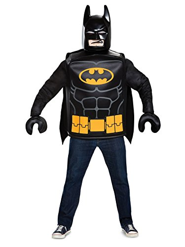 Disguise Men's Batman Classic Adult Costume, Black, One Size]()