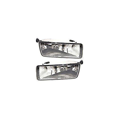 Explorer Trac Mileage Sport - Set of 2 Clear Lens Fog Light compatible with 2006-10 ford Explorer LH & RH w/Bulbs