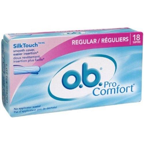 Ob Pro Comfort Regular Digital Tampon - 18 per pack -- 24 packs per case.