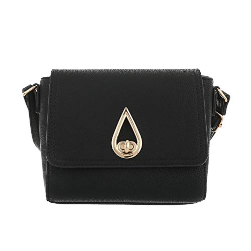 Ital à Size One Noir porter femme pour à Noir l'épaule Design Sac paqpr