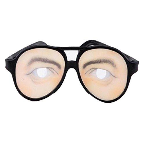 Datework Men HALLOWEEN Party Funny Glasses Fake Novelty Prank Eye Ball Joke - Joke Glasses Funny