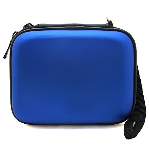Co2Crea Hard Carrying Case Bag for Western Digital WD My Passport Studio Ultra Slim Essential WD Anniversary Edition Elements SE Portable 500GB 1TB 2TB External Hard Drive HDD Color Blue primary