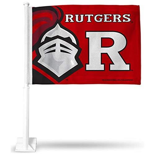 - Rico Industries NCAA Rutgers Scarlet Knights Car Flag