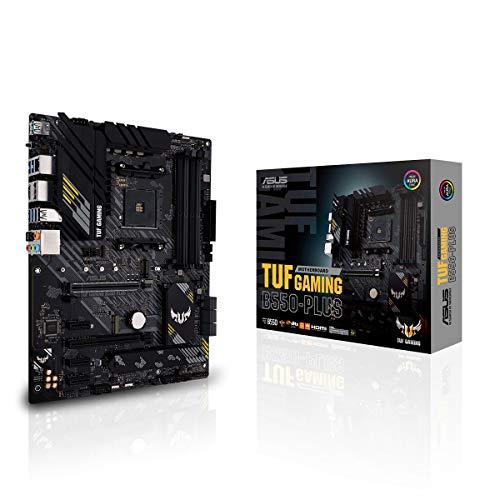 🥇 ASUS TUF GAMING B550-PLUS – Placa Base Gaming ATX AMD AM4 con VRM de 10 fases