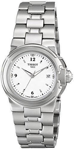 (Tissot Women's 'T Sport' White Dial Stainless Steel Quartz Watch T080.210.11.017.00)