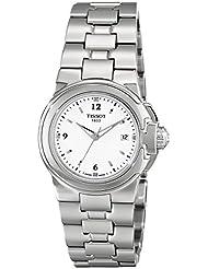 Tissot Womens  T Sport White Dial Stainless Steel Quartz Watch T080.210.11.017.00