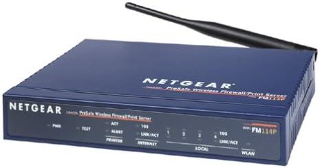 NETGEAR FM114P ProSafe 4-Port Wireless Firewall