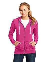 District Women's Core Fleece Full Zip Hoodie