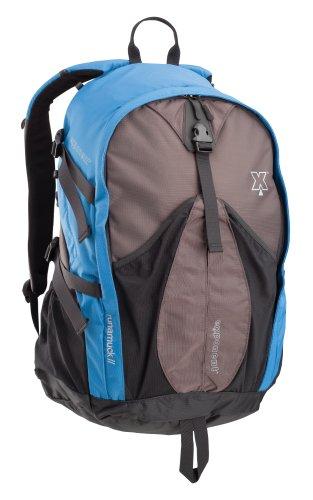 Coleman Exponent Runamuck X35 Panel-Load Daypack,Blue
