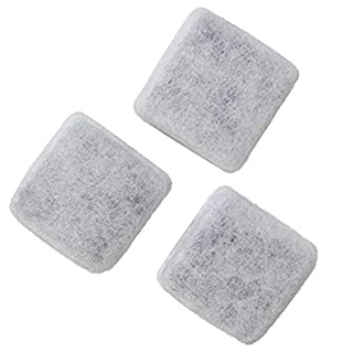 Petmate Replendish Charcoal Replacement Filters Control Chlorine and Odor (3 count)