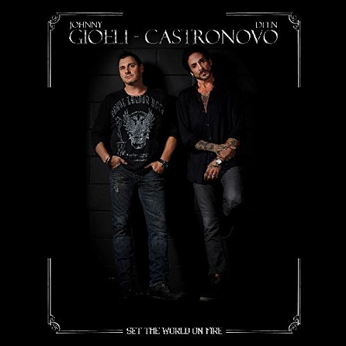 CD : Gioeli Castronovo - Set The World On Fire (CD)