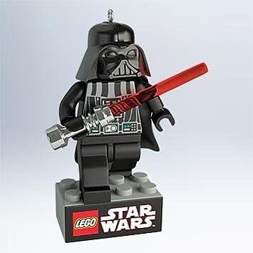Amazon.com: Darth Vader LEGO Star Wars Keepsake Ornament - QXI2619 ...