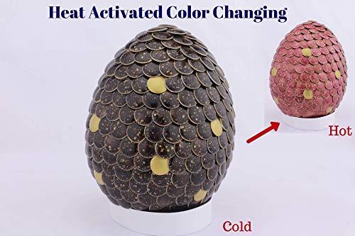Gender Reveal Dragon Egg Color Changing Black to Pink Girl -