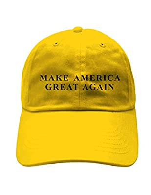 "ShirtShop Apparel ""Make America Great Again"" Embroidered DAD Hat"