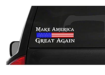 de080bd14a7 Image Unavailable. Image not available for. Color  Make America Great Again  (M55) USA Vinyl Sticker Car ...