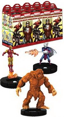 Marvel HeroClix: Invincible Iron Man Booster Brick (10)