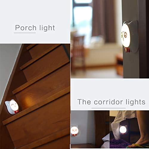 Cat Pattern LED Night Light Kids PIR Recargable Sensor De Movimiento Baby Night Lights Para Dormitorio, Pasillo, Cocina, Baño, Escaleras,A: Amazon.es: Iluminación