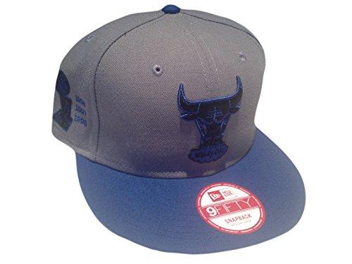 New Era Windy City NBA Chicago Bulls Snapback Grey/Blue