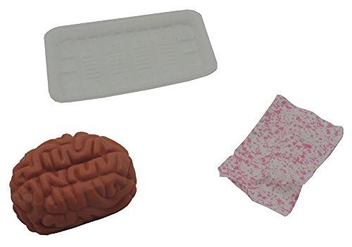 Forum Novelties Unisex-Adults Butcher Shop Banquet-Brains, Brown, Standard
