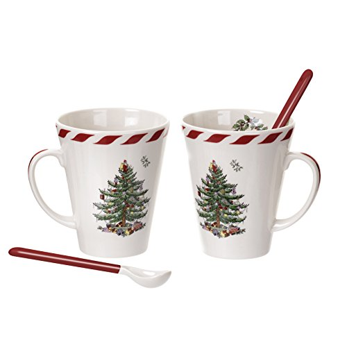 Spode Christmas Tree Peppermint Spoons product image