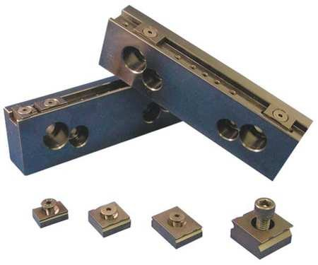 MITEE-BITE PRODUCTS INC 32068 Steel Jaw Set, Vise Jaws, 8in, PK2 MITEE-BITE PRODUCTS INC 32068 Steel Jaw Set, Vise Jaws, 8in, PK2