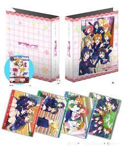 ( One with a PR card ) Five Cross 'Love Live ! ' Binder Set by Bushiroad