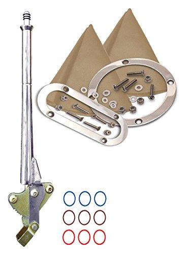 American Shifter 421153 4L80E Shifter 16 E Brake Trim Kit for DB138
