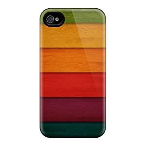 Hot Covers Cases For Iphone/ 6 Cases Covers Skin - Retro Wooden V1