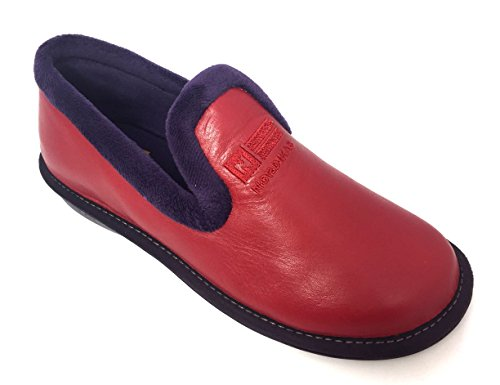 Nordika red femme pour Chaussons Chaussons Nordika dUxqUn46
