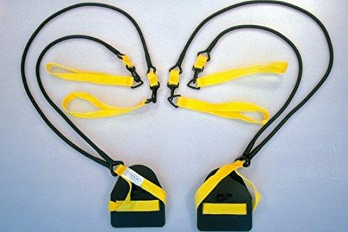 NZ Manufacturing StretchCordz Breaststroke Machine Yellow 5-14 lbs (2.2-6.3 kg) of Pull