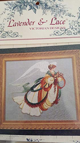 Lavender & Lace ANGEL OF AUTUMN COUNTED CROSS STITCH CHART Angel Cross Stitch Chart
