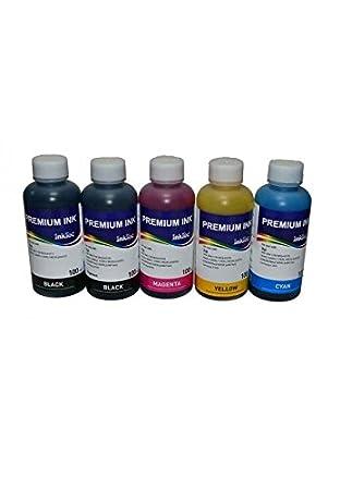 5 Tintas INKTEC compatibles con cartuchos PGI-525BK, CLI-526BK ...