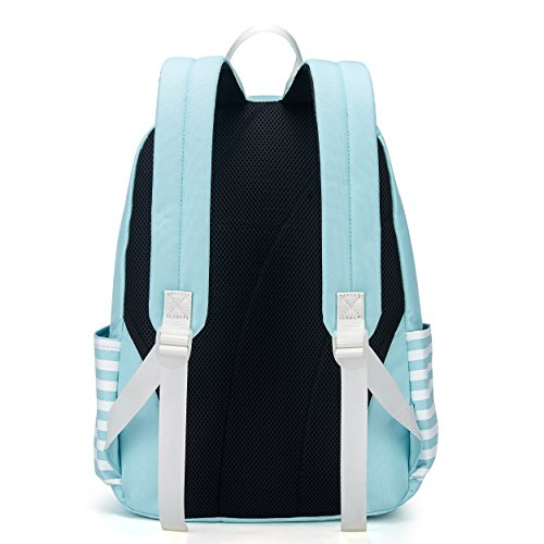 Bag Casual Handbag Cute Shoulders Lightweight Ladies Lightblue Girls Women Waterproof Rucksack Backpack Daypack Bags for qpZEE7