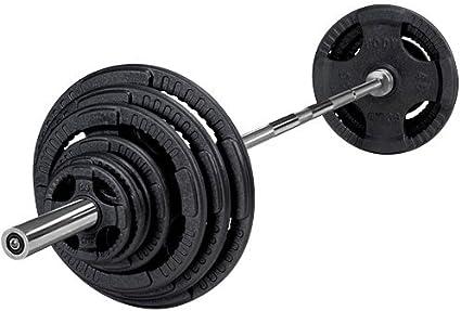 Body-Solid Pack Barra + hierro fundido pesas olímpico OST: Amazon.es: Deportes y aire libre