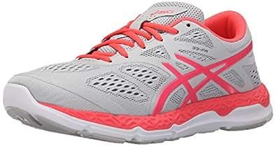 ASICS Women's 33-FA Running Shoe, Vapor/Diva Pink/Melon, 5 M US