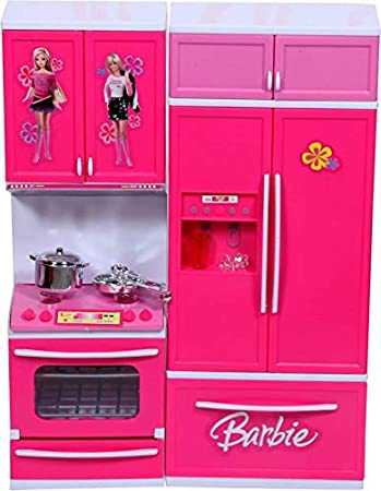 Buy Krivan Barbie Kitchen Set Online At Low Prices In India