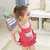 Gerber Girls' One-Piece Swimsuit, Watermelon, 3T