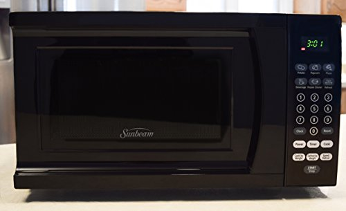 Sunbeam-SGS90701B-B-07-Cubic-Foot-Microwave-Oven-Black